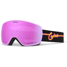 Giro Eave Gogle, czarny/różowy